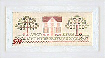 Peachtree Cottage by Little House Needleworks -- click to see more