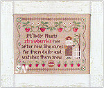 M'Lady's Strawberries by Little House Needleworks