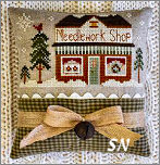 Hometown Holiday #15 The Needlework Shop from Little House Needleworks -- click to see lots more