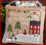 No Place Like Home from Little House Needleworks -- click to see lots more