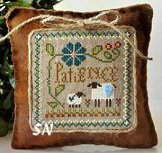 Little Sheep Virtues #7 Patience from Little House Needleworks - click to see more