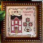 Poinsettia House from Little House Needleworks - click for more