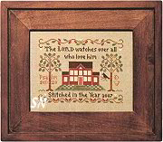 Psalm 145 from Little House Needleworks -- click to see lots more