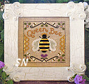 Queen Bee from Little House Needleworks - click for more