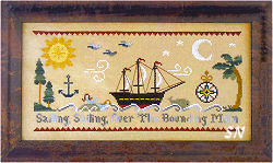 Sailing, Sailing from Little House Needleworks - click to see more
