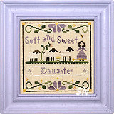 Little Women Virtues Soft and Sweet from Little House Needleworks and Crescent Colours - click to see more