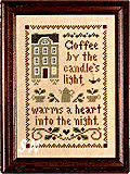 Spot of Coffee by Little House Needleworks