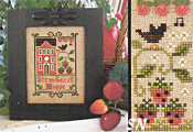 Strawberry House from Little House Needleworks - click for more