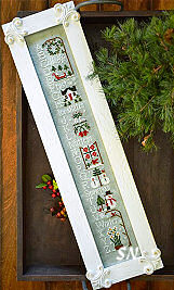 Winter ABC's from Little House Needleworks -- click to see more