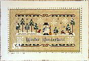 Winter Wonderland from Little House Needleworks -- click to see lots more!
