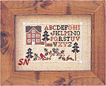 Woodland Sampling from Little House Needleworks -- click for more