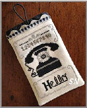 Hello Phone Case from Little House Needleworks -- click to see lots more