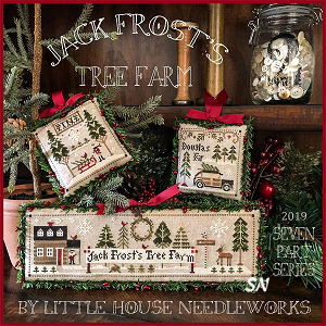 Jack Frost's Tree Farm from Little House Needleworks -- click to see lots more
