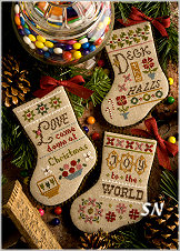 Flora McSample's 2015 Annual Mini Stockings from Lizzie*Kate - click for more