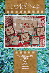 Lizzie Kate's #176 Tiny Tidings XXI