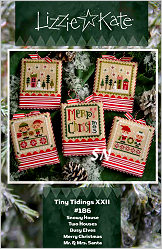 #186 Tiny Tidings XXII from Lizzie Kate