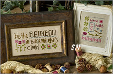 B56 Be the Rainbow in Someone Else's Cloud from Lizzie Kate - click to see more