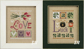 Celebrate With Charm Flip-Its F165 F165 Love and Luck from Lizzie Kate