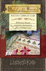 Lizzie Kate's CHRISTMAS MYSTERY SAMPLER part 1 - click for more