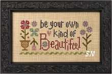Be Your Own Kind of Beautiful from Lizzie Kate