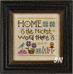 S131 Home is the Nicest Word There is from Lizzie Kate - click to see more