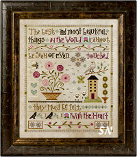 Lizzie Kate's Mystery Sampler Things Unseen Complete! - click for lots more kits