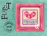 Lizzie Kate Flip-It F35 February Stamp -- click to see a larger view