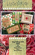 Tiny Tidings XVII Chart from Lizzie*Kate - click for more