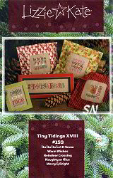 Tiny Tidings XVIII from Lizzie*Kate - click for more