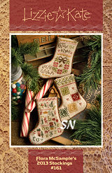 Lizzie Kate's Flora McSample's 2013 Stockings - click for more