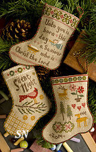 Lizzie Kate's Flora McSample's 2014 Stockings #168