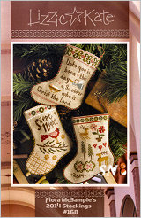 Lizzie Kate's Flora McSample's 2014 Stockings #168 - click for more