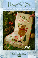 Lizzie Kate's Reindeer Stocking #169 - click for more