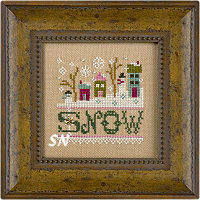 Lizzie Kate's CHRISTMAS MYSTERY SAMPLER complete - click for more