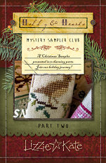 Lizzie Kate's CHRISTMAS MYSTERY SAMPLER part 2 - click for more
