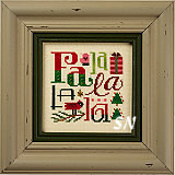 Fa La La La La Kit from Lizzie*Kate - click for more