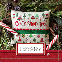 O Christmas Tree K94 Kit from Lizzie Kate