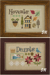 November & December from Lizzie Kate