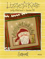 Jolly Old Soul Santa Snippet Snippet from Lizzie*Kate - click for more