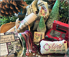 Lizzie Kate's *Spirit of Christmas* Mystery Sampler