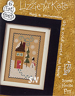 F111 Snow House Flip-It from Lizzie*Kate - click for more