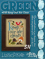 F95 Keep Our Air Clean Green Flip from Lizzie*Kate - click for more