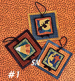PN005 Halloween Hang-Ups No 1 in Punch Needle from Lizzie Kate -- click to see more!