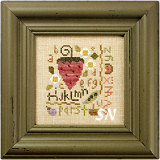 Flora McSample Strawberry Sampler from Lizzie*Kate - click for more