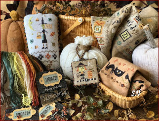 Spooked! Mystery Sampler - click for more