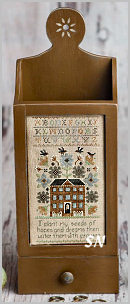 Hopes and Dreams Sampler from Lone Elm Lane - click for more