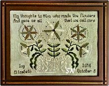 Ivy's Sampler from Lone Elm Lane - click for more