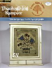 Thanksgiving Sampler from Lone Elm Lane Designs -- click to see more