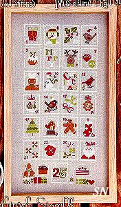 Christmas Stamps from Madame Chantilly