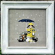 Cats in the Rain from Madame Chantilly
